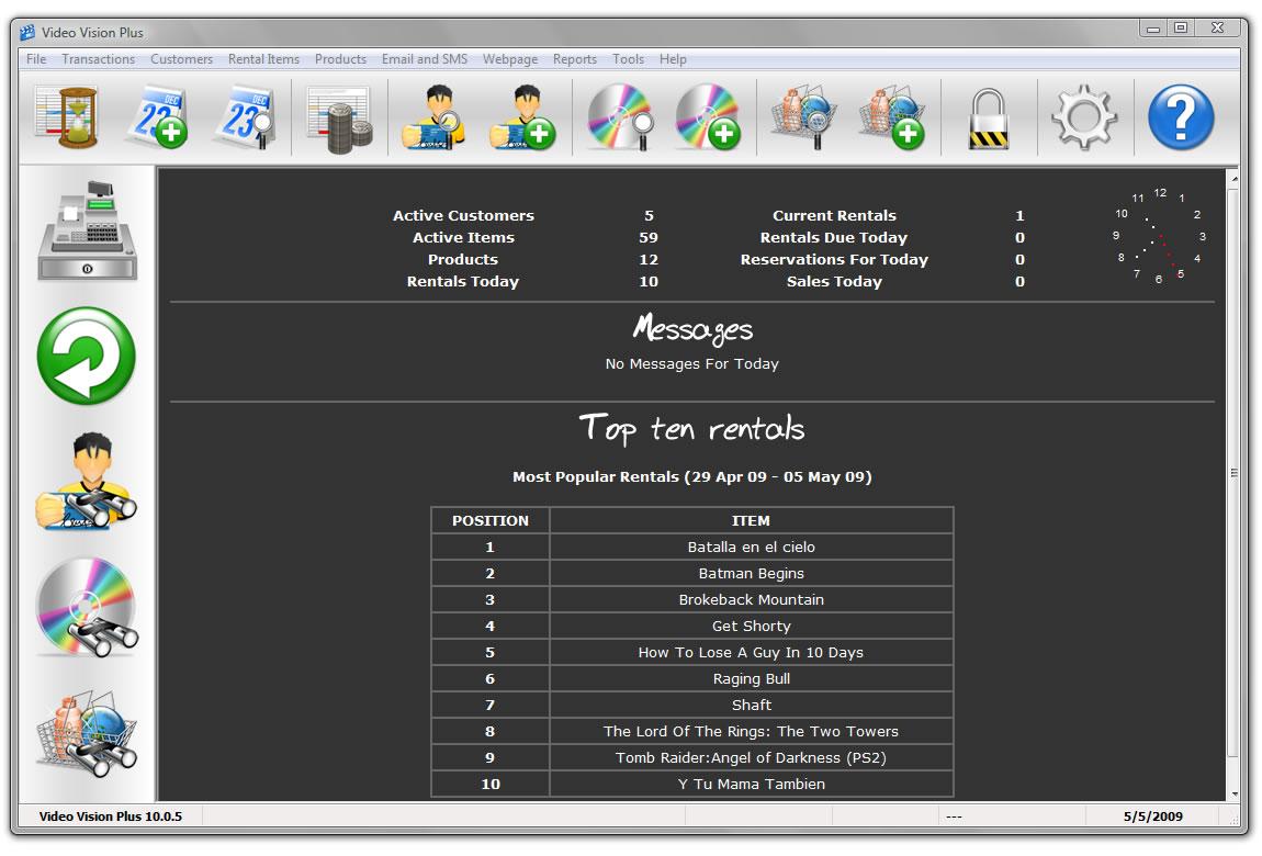 Video Vision Plus full screenshot